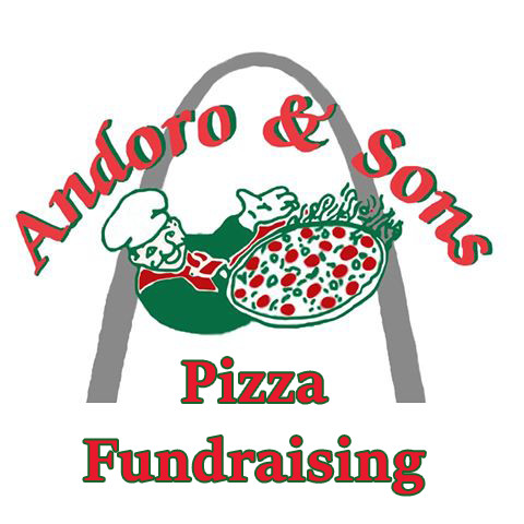 Pizza Fundraiser Logo Andoro and Sons